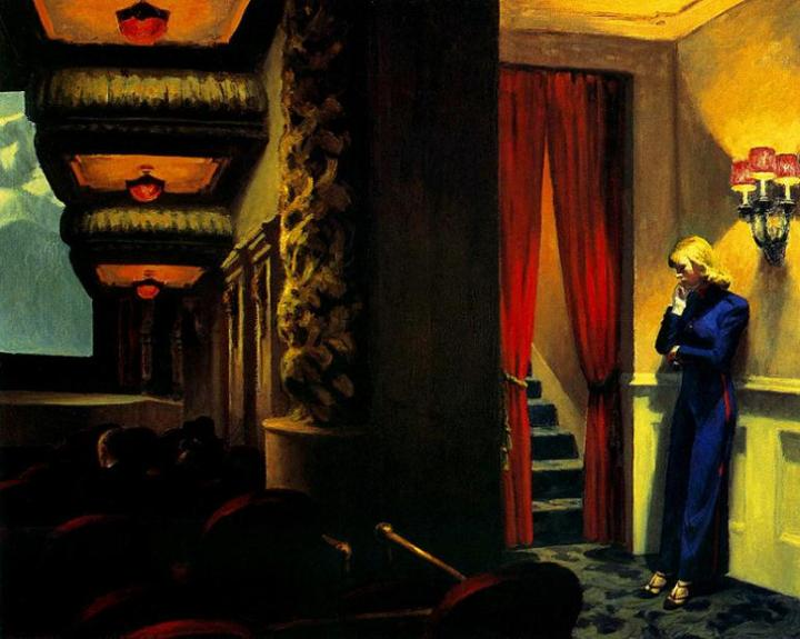 Edward Hopper. New York Movie